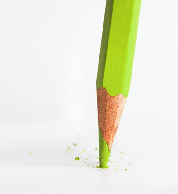 broken-tip-of-green-pencil